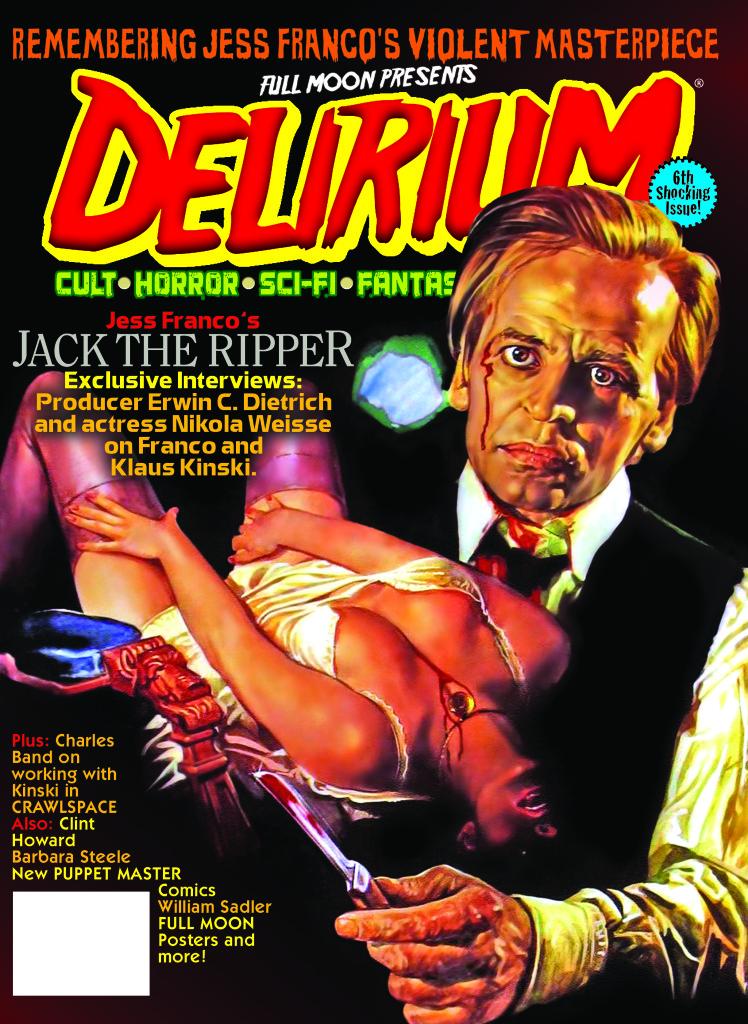 DELIRIUM 6 Cover