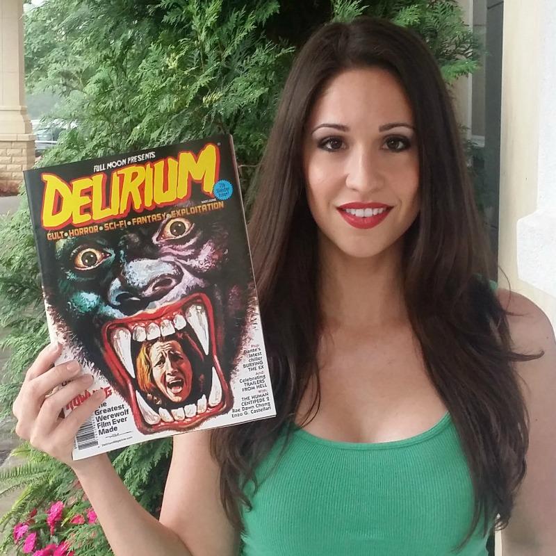 Christina Delirium Magazine Cover
